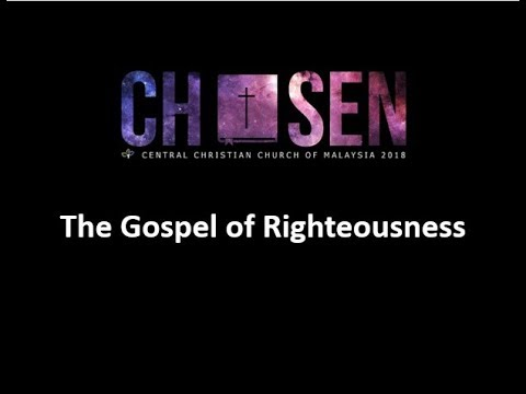 The Gospel of Righteousness