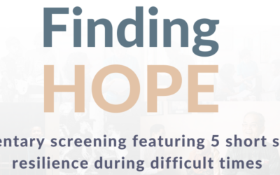 Finding Hope!